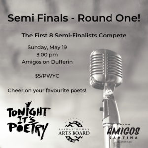 Slam Poetry Semi-Finals, Round One