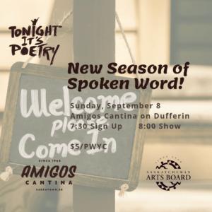 Tonight It's Poetry New Season
